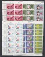 Switzerland 1963 Anniversaries 6v Bl Of 10  ** Mnh (43167) - Zwitserland