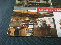 STORIA POSTALE  FRANCOBOLLO DUOMO MILANO ITALIA SALUTI DA LANZA DI RUMMO VAL DI NON TRENTINO BAR CAFFE MADDALENE CHIESA - Saluti Da.../ Gruss Aus...