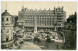 LONDON : CHARING CROSS / POSTMARK - GREENWICH / ADDRESS - WORTHING, MARINE PLACE - London Suburbs