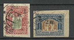Estland Estonia 1920 Michel 25 - 26 O - Estland