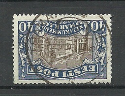 Estland Estonia 1927 O PÕLTSAMAA Auf Theater Michel 56 O - Estland