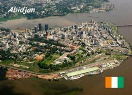 Ivory Coast Abidjan Aerial View New Postcard Elfenbeinküste AK - Ivory Coast