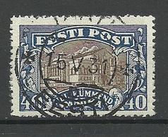 Estland Estonia 1927 O TARTU Auf Theater Michel 56 O - Estland