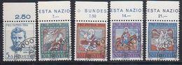 Switzerland 1966 Pro Patria 5v Used (43169) - Pro Patria