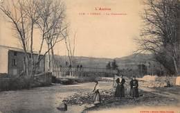 CPA L' Ariège - LERAN - La Passerelle - Frankrijk