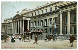 LONDON : THE GENERAL POST OFFICE / POSTMARK - MAIDA HILL / ADDRESS - STANHOPE TERRACE, HYDE PARK - London Suburbs
