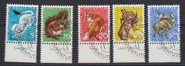 Switzerland 1966 Pro Juventute 5v Used (43170) - Pro Juventute