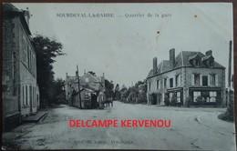 SOURDEVAL LA BARRE (50)  Quartier De La Gare   Editeur De Rango  Avranches - Autres Communes