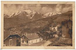 CPSM - 74 - COMBLOUX - La Route Des Clos - Hôtel Edelweiss - Carte Tachée - - Combloux