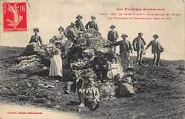 CPA LES PYRENEES ARIEGEOISES - COL De PORT, Entre Saurat Et Massat - La Fontaine De Guindoulet, Près Du Col - France