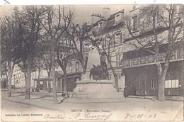 CPA -  Melun - Monument Pasteur - Melun