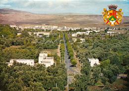 TAZA (Maroc) Panorama Et Armoiries De La Ville - Carte Moderne - Voyagée - Bon état - 2 Scans - Marruecos