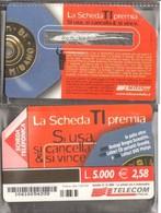Telecom Italia 2000 La Scheda Ti Premia - 1a Fase - Pubbliche Figurate Ordinarie