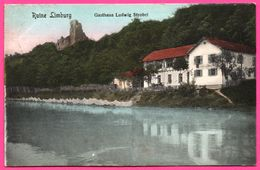 Ruine Limbourg - Gasthaus Ludwig Strobel - Edit. J. KUNTZ - Oblit. SASBACH 1913 - Sasbach