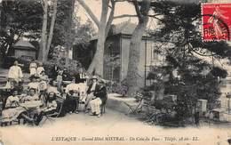CPA L' ESTAQUE - Grand Hôtel MISTRAL - Un Coin Du Parc - Téléph 18.66 -EL - L'Estaque