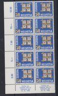 Europa Cept 1963 Switzerland 1v Bl Of 10 ** Mnh (43175) - Europa-CEPT