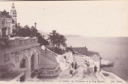 Monaco, Monte Carlo, Le Casino, Les Terrasses Et Le Cap St Martin (pk60687) - Monte-Carlo