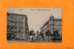 GLOGAU  -  GLOGOW  -  (  Basse Silésie  )  -  VIKTORIA-  U.  WILHELMSTRASSEN - ECKE  -  Août 1917 - Polen
