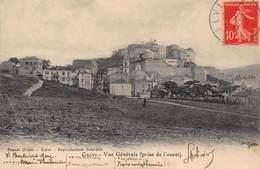 CPA CALVI - Vue Générale ( Prise De L' Ouest ) - Calvi