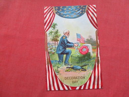 Embossed  Decoration Day    Ref 3422 - Holidays & Celebrations