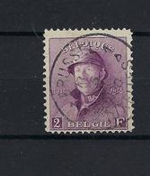 N°176 GESTEMPELD Brussel Bruxelles 1 1920 COB € 525,00 SUPERBE - 1919-1920 Roi Casqué