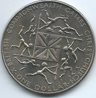 New Zealand - Elizabeth II - 1974 - Commonwealth Games - KM44 - Nouvelle-Zélande