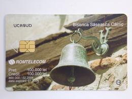 Télécarte - ROUMANIE - ROMTELECOM - 800000 Exemplaires - 2006 - Biserica Saseasca Calnic - Romania