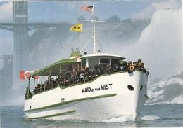 CP Maid Of The Mist Niagara Falls Chutes Etats Unis Canada - Ferries