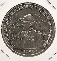 SAMOA KM# 41 10 TALA 31.3300 G Silver TRES RARE E SILVER/ARGENT/PLATA - Samoa