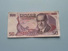 FÜNFZIG SCHILLING ( 50 ) Josephinum Wien 2 Jänner 1986 > B 788336 K ( For Grade, Please See Photo ) ! - Austria