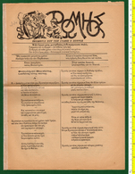 "M3-37015 ATHENS Greece 20.11.1914 WW1. Satirical Journal ""O Romios"" [G.Souris] - Andere"