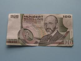 HUNDERT SCHILLING ( 100 ) Akademie Der Wissenschaften/Wien 2 Jänner 1984 > J 359048 P ( For Grade, Please See Photo ) ! - Autriche