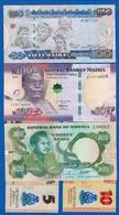 Nigéria  5  Billets  Neuf - Nigeria