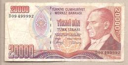 Turchia - Banconota Circolata Da 20.000 Lire P-201a - 1988 - Turkey