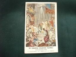 SANTINO HOLY PICTURE IMAGE SAINTE   XIV CONGRESSO EUCARISTICO NAZIONALE SETTEMBRE 1953 TORINO - Religion & Esotérisme