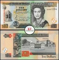 Belize | 10 Dollars | 2003 | P.68a | DA 667254 | UNC - Belize
