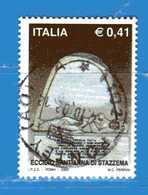 Italia °- Anno 2002 - ECCIDIO Di Sant'ANNA Di STAZZEMA . USATO. Unif 2675.  Vedi Descrizione - 6. 1946-.. Repubblica