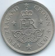 New Zealand - Elizabeth II - 1953 - Coronation - KM30 - Nouvelle-Zélande