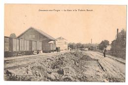 Cousances-aux-Forges- La Gare Et La Tuilerie Benoît .-A.Momot - Autres Communes