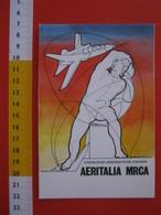 CA.15 ITALIA CARD 1982 COSTRUZIONI AERONAUTICHE ITALIANE AERITALIA MRCA BOZZETTO CANEVARI - 1946-....: Era Moderna
