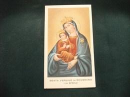 SANTINO HOLY PICTURE IMAGE SAINTE  BEATA VERGINE DI ROVERANO LA SPEZIA - Religion & Esotérisme