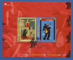 Portugal  2003 Mi.Nr. Block 185 (2677/2678) , EUROPA CEPT - Plakatkunst  - Gestempelt / Fine Used / (o) - 2003
