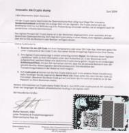 """Österreich 2019:  Block """"CRYPTO STAMP Grün """" Postfrisch (s.Foto) - 2011-... Neufs"""