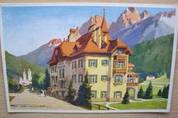 ITALIA TRENTINO ALTO ADIGE CARTOLINA DA SAN CANDIDO BOLZANO ALTA PUSTERIA ALBERGO STAZIONE - Bolzano (Bozen)