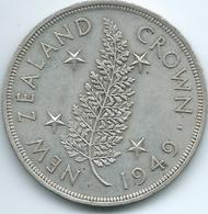 New Zealand - George VI - 1949 - 1 Crown - Royal Visit - KM22 - Nouvelle-Zélande