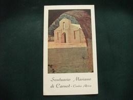SANTINO HOLY PICTURE IMAGE SAINTE  SANTUARIO MARIANO DI CARNOT CENTRO AFRICA - Religione & Esoterismo