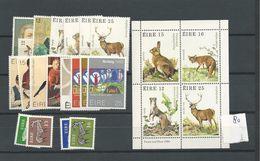 1980 MNH Ireland, Eire Year Collection, Postfris - Irlanda