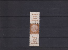 A1 /   Drittes Deutsches Reich  Zusammendruck WHW Hindenburg S176 Postsparkasse - Zusammendrucke