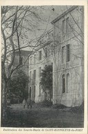 CPA 30 Gard Institution Protestante Des Sourds Muets St Hippolyte Du Fort Protestantisme Saint - France