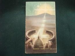 SANTINO HOLY PICTURE IMAGE SAINTE  ANNO SANTO 1950 FIRMATO ZANDRINO CALENDARIO 11 - Religione & Esoterismo